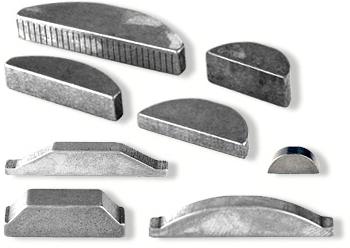 Woodruff Keys - Non-Rok | Hi-Pro | Metric and Standard Woodruff Keys